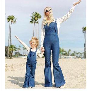 Women's Mavis Denim Bell Overalls